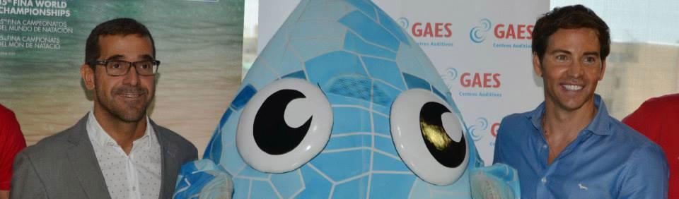 GAES patrocina Campeonatos Mundiales de Natación Barcelona 2013