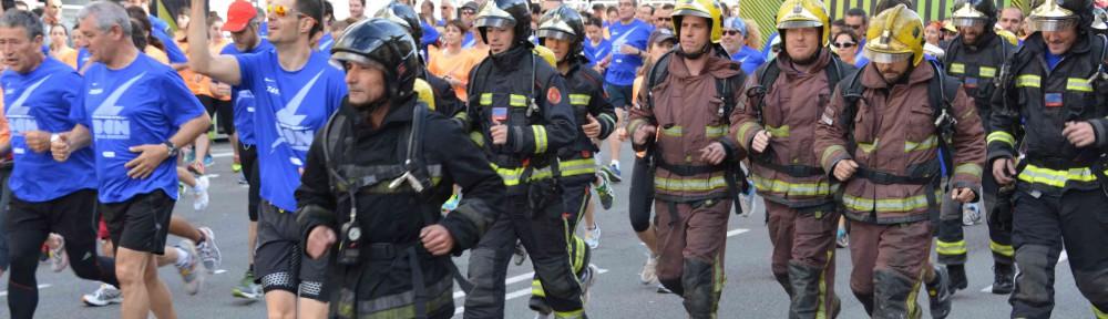 GAES patrocina la Cursa de Bombers de Barcelona