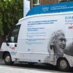 El audiobús de GAES retoma su ruta para concienciar contra la hipoacusia