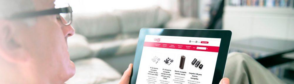 tienda online de GAES