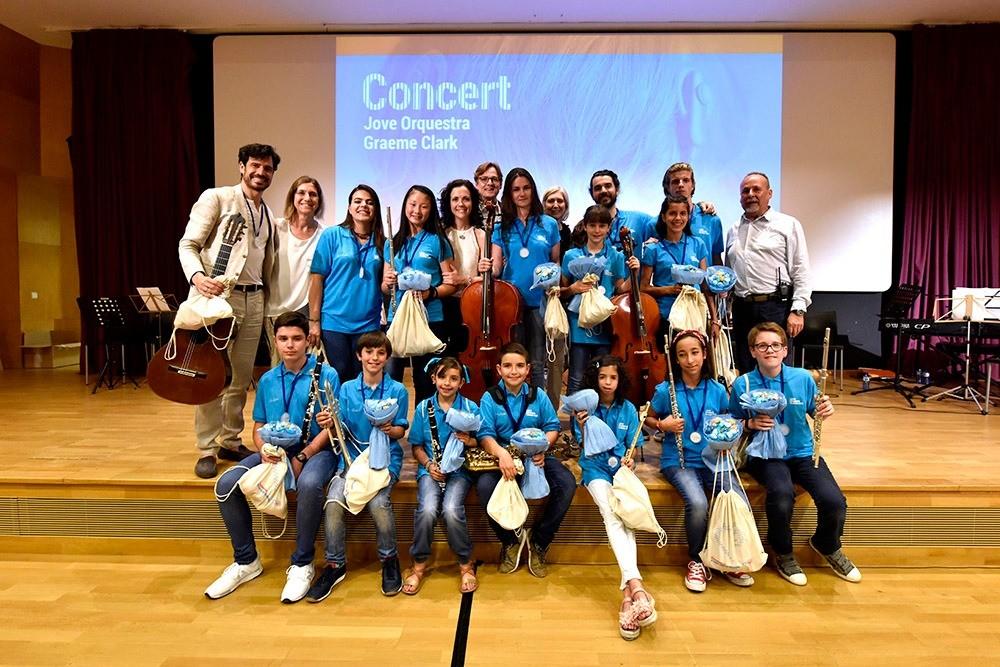 Emotivo concierto de la Joven Orquesta Graeme Clark