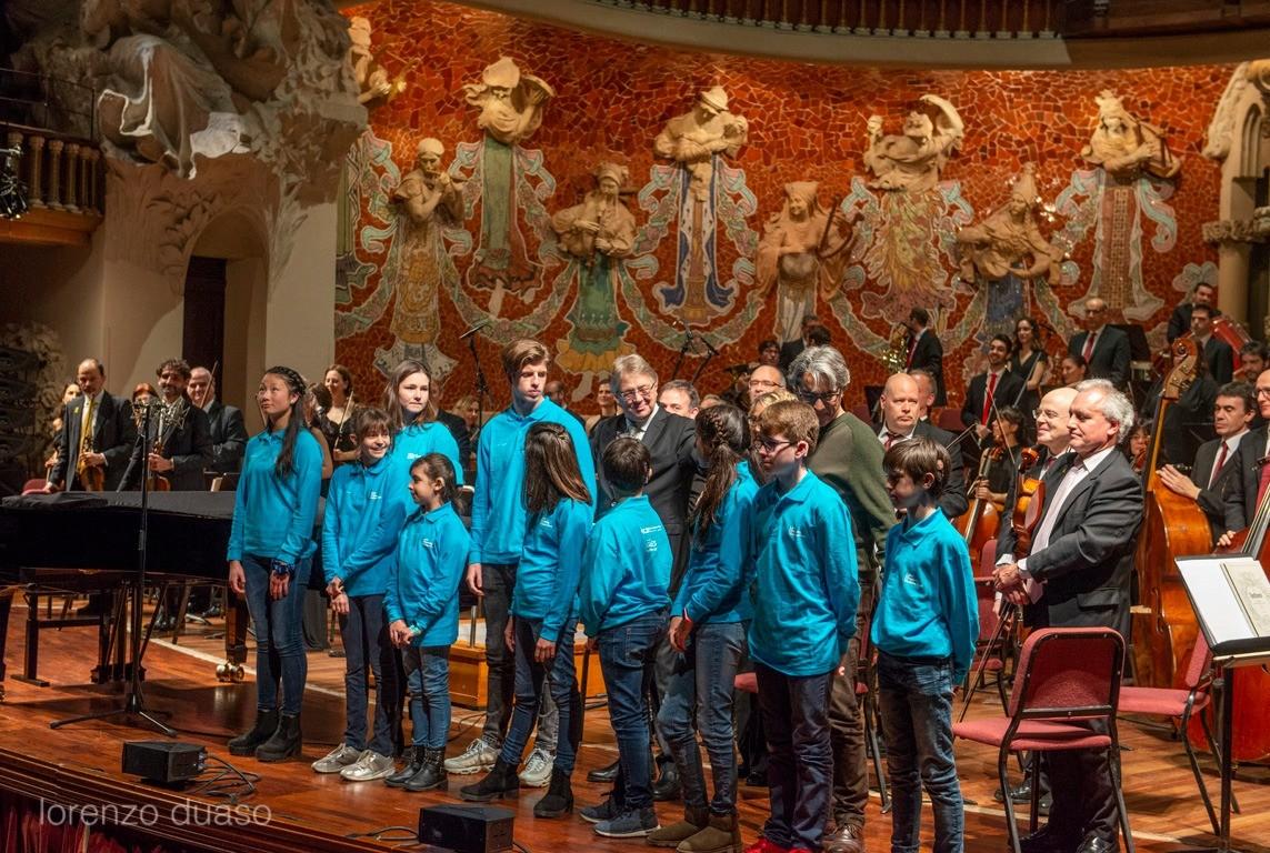 Estreno de la obra creada por la Joven Orquesta Graeme Clark