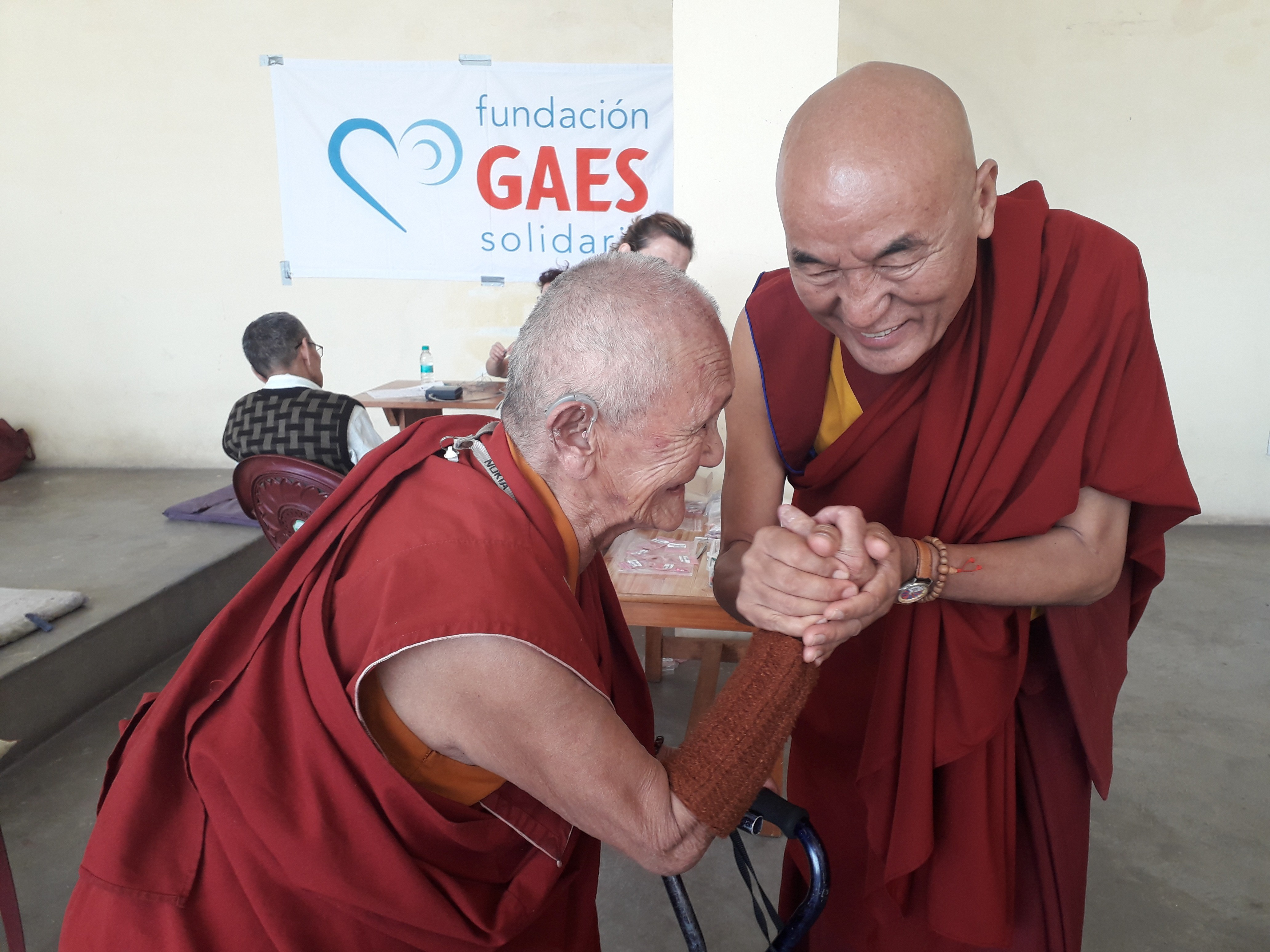 La Fundación GAES Solidaria pone en marcha un nuevo proyecto de audición junto a la Casa del Tibet