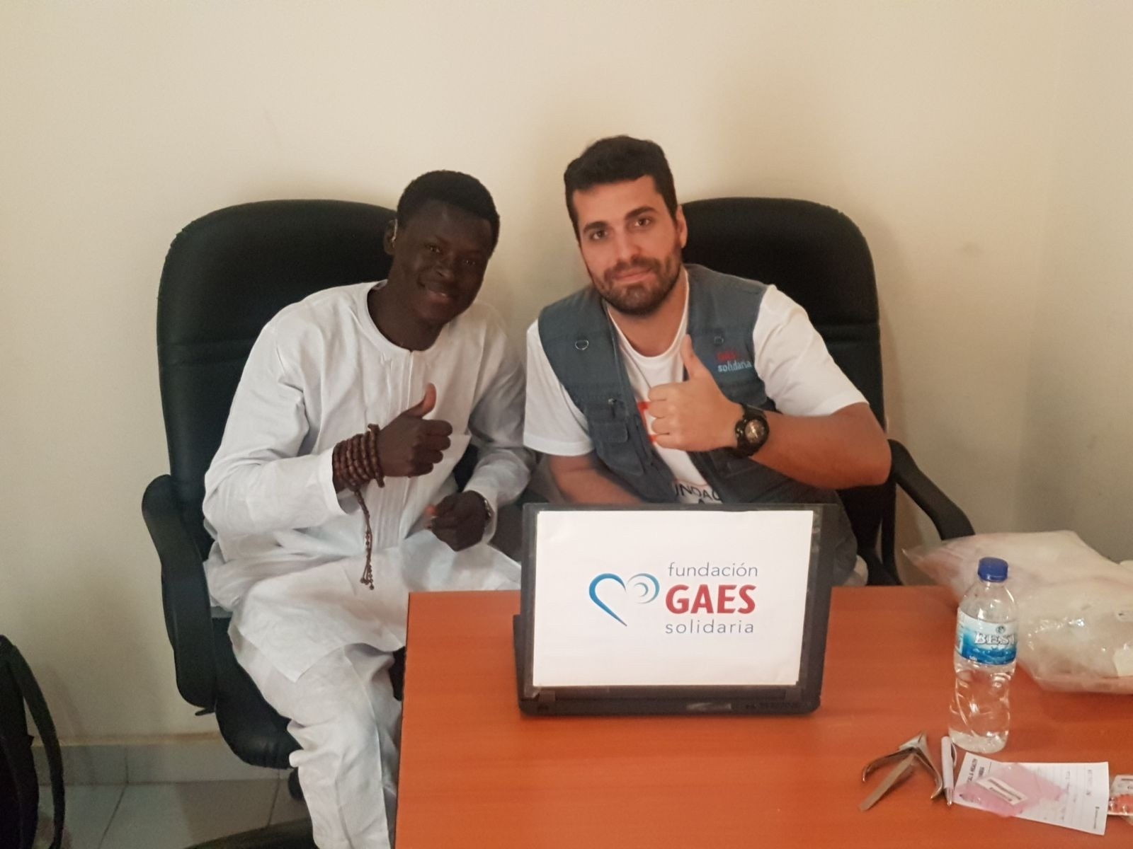 Gambia con Fundación Clarós
