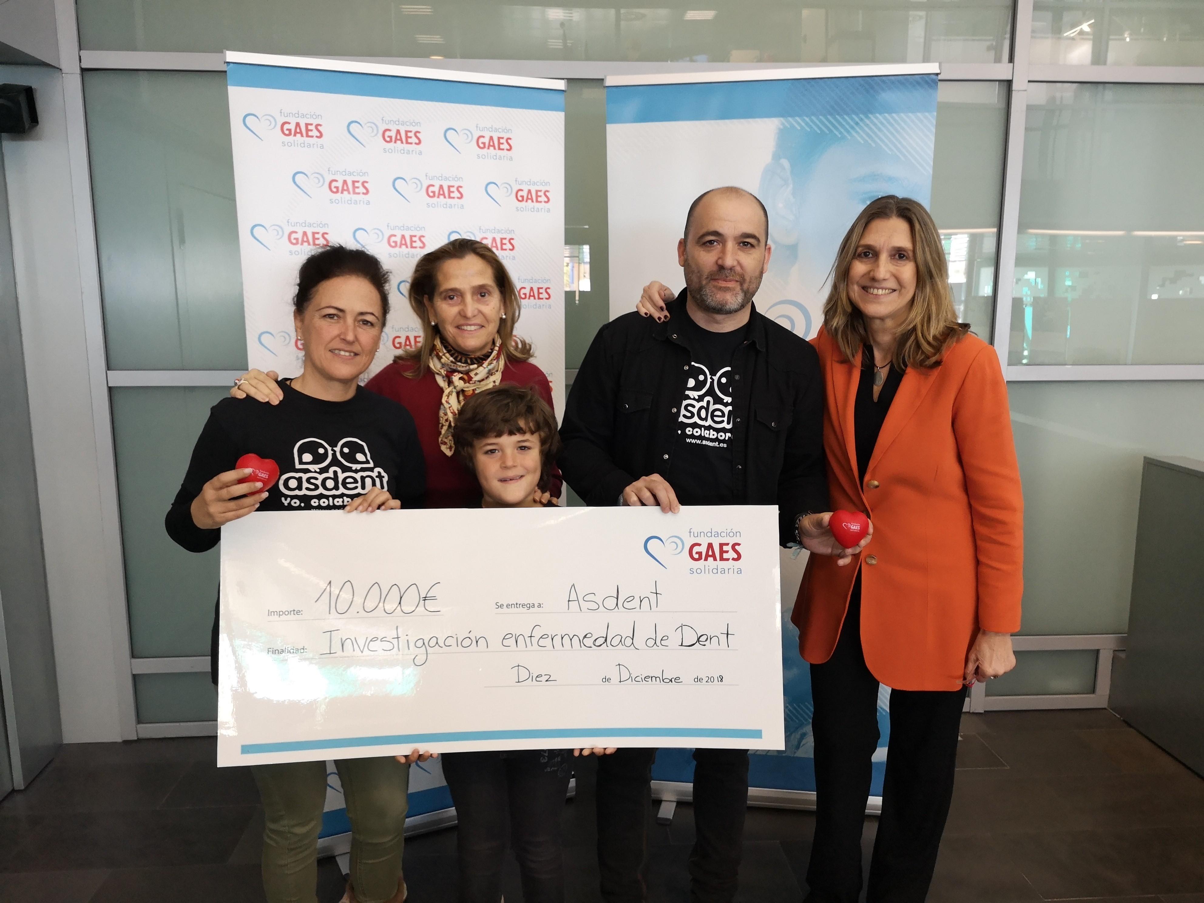 La Fundación GAES Solidaria colabora con la investigación de la enfermedad de Dent